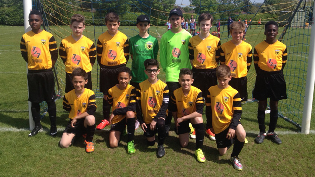 AEK U12 League Champions