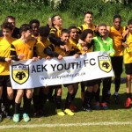 AEK U14 Black 2015 Champions