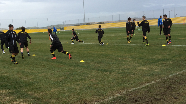 AEK Youth visits AEK Athens1